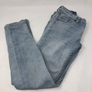 Levi's 711 Skinny Jeans in Bleached Out Blue